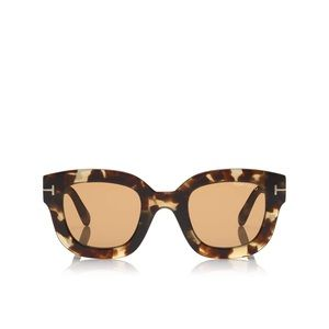 TOM FORD Pia Sunglasses in Havana